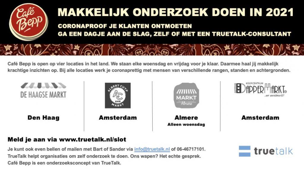 Makkelijk onderzoek doen in 2021 Haagse markt in Den Haag Albert Cuypmarkt in Amsterdam Centrum markt in Almere Dappermarkt in Amsterdam